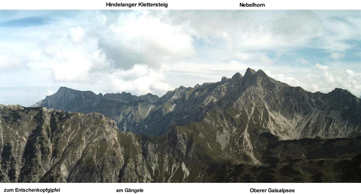 Klettersteig Nebelhorn : Foto hindelanger klettersteig vom nebelhorn m zum großen